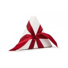 Атласна стрічка червоного кольору, 2,5 см