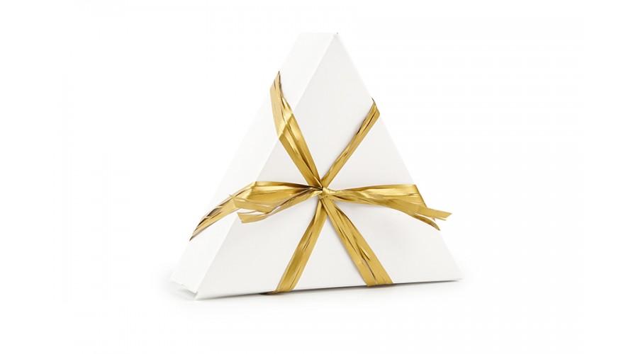 Золотиста рафия для оформлення подарунків