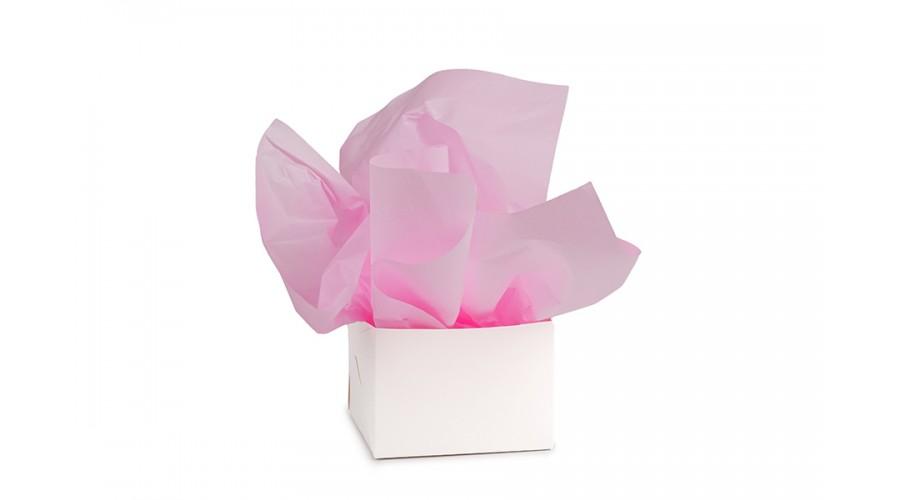 Тішью розового кольору