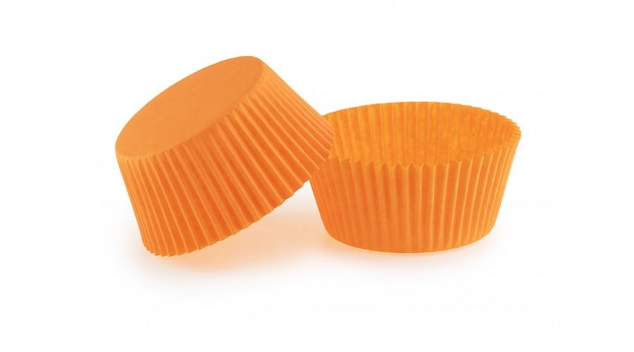 Оранжевые капсулы для кексов ∅55. Арт 140