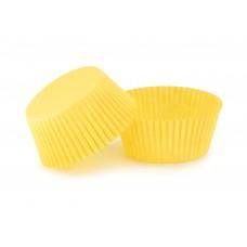Жовті тарталетки для кексів ∅55. арт 125