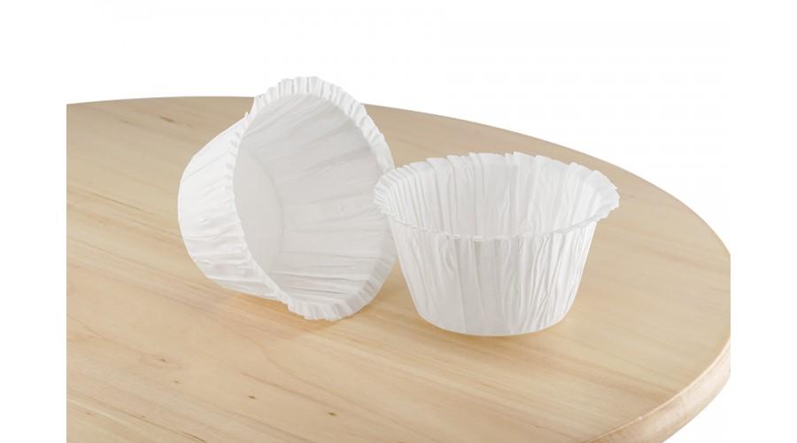 Біла форма з пергаменту з бортиком 50х40 мм