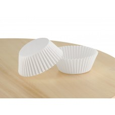 Білі паперові капсули для випічки кексів ∅45. арт 6а