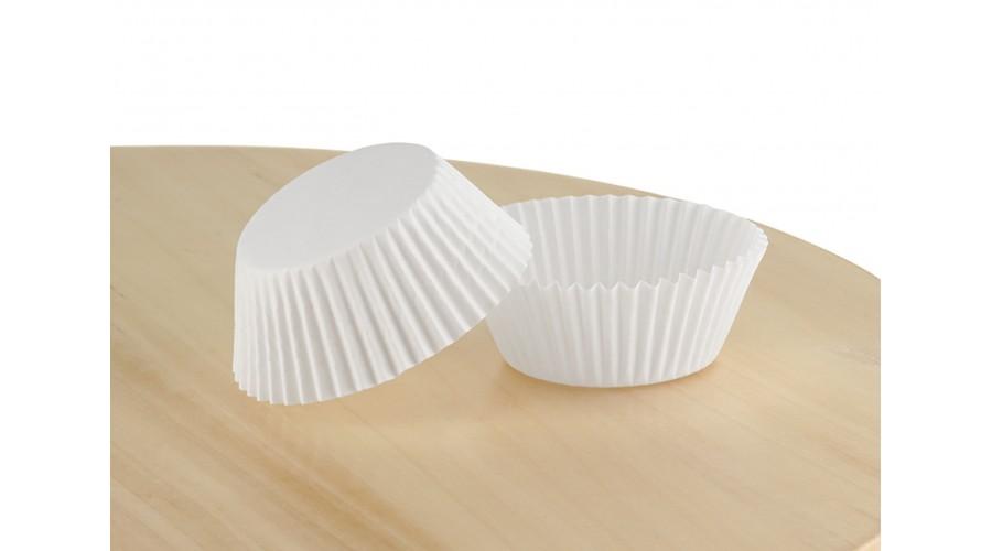 Білі паперові форми для кексів, д. 40. Арт 5а
