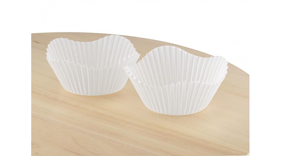 Паперові форми в формі квітки для кексів, ∅50. Арт 7a Квітка