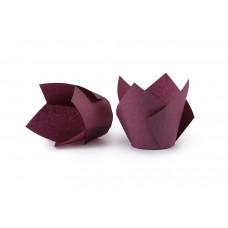 Сливова форма Тюльпан для кексов. Арт ТН150