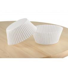 Білі паперові капсули для кексів д. 55. Арт 140