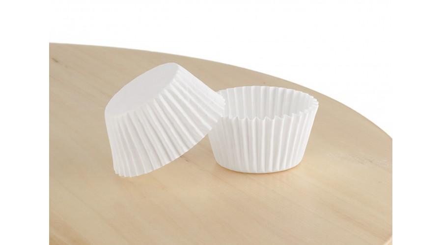 Білі формочки для цукерок, 30х32,5 мм. арт 3е