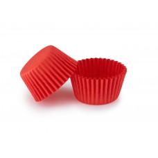 Червоні тарталетки для укладання цукерок ∅30. арт 3b