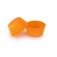 Помаранчеві тарталетки для укладання цукерок ∅30. арт 3b