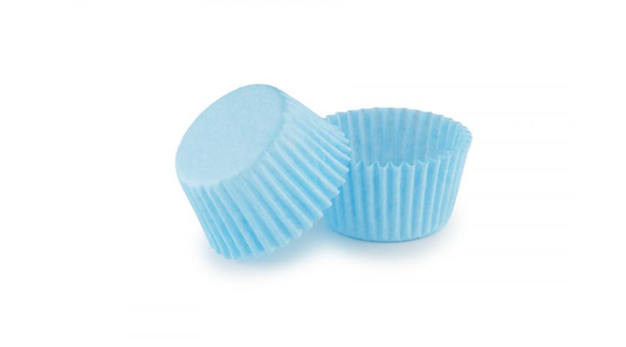 Блакитні тарталетки для укладання цукерок ∅30. арт 3b