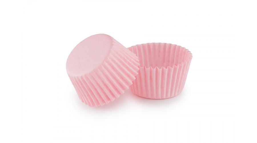 Світло-рожеві паперові формочки для цукерок ∅30. арт 3d