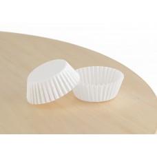 Білі формочки для цукерок 30х16 мм. арт 3d