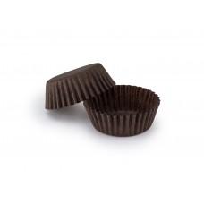 Коричневые бумажные формочки для конфет ∅30. Арт 3d