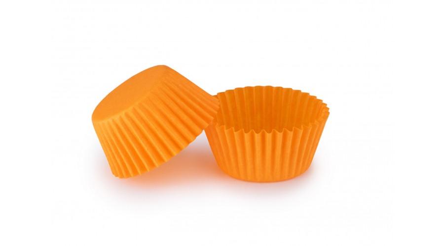 Помаранчеві паперові форми для цукерок ∅35. арт 4