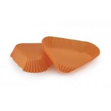 Тарталетка Трикутник (102х25) помаранчева для тістечок