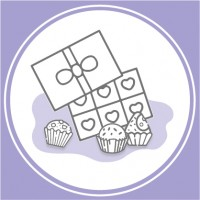 Паперові форми для цукерок