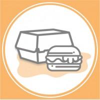 Упаковка для бургерів (0)