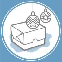 Упаковка для новорічних подарунків