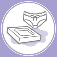 Коробки для нижньої білизни