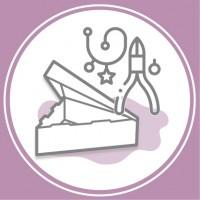 Коробка для рукоділля