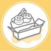 Упаковка для суші (0)