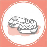 Паперові форми для тістечок