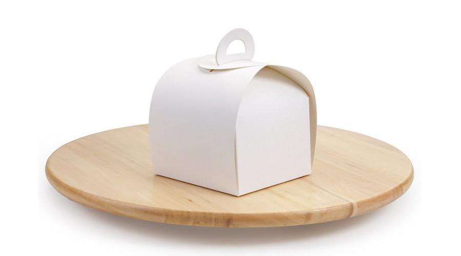 """Коробка для кондитерських виробів """"Скринька"""", 110х110х80 мм, без купола"""