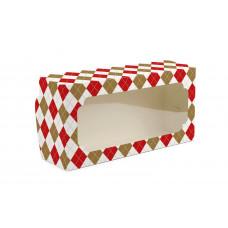 """Коробка для рулетів, """"Ромбики"""", 150х300х90 (5 штук)"""