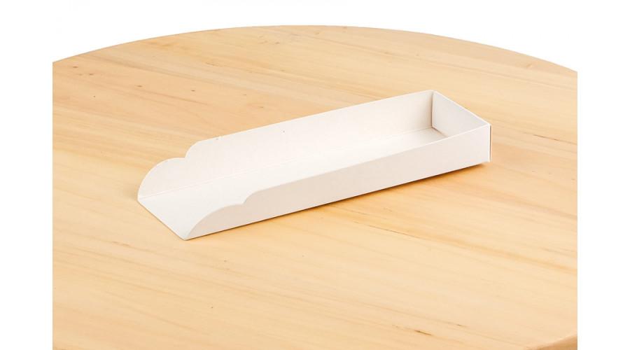 Підкладка під хот-дог, білого кольору, 159х49х19