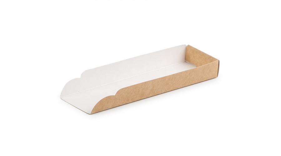 Підкладка під хот-дог, крафт, 159х49х19
