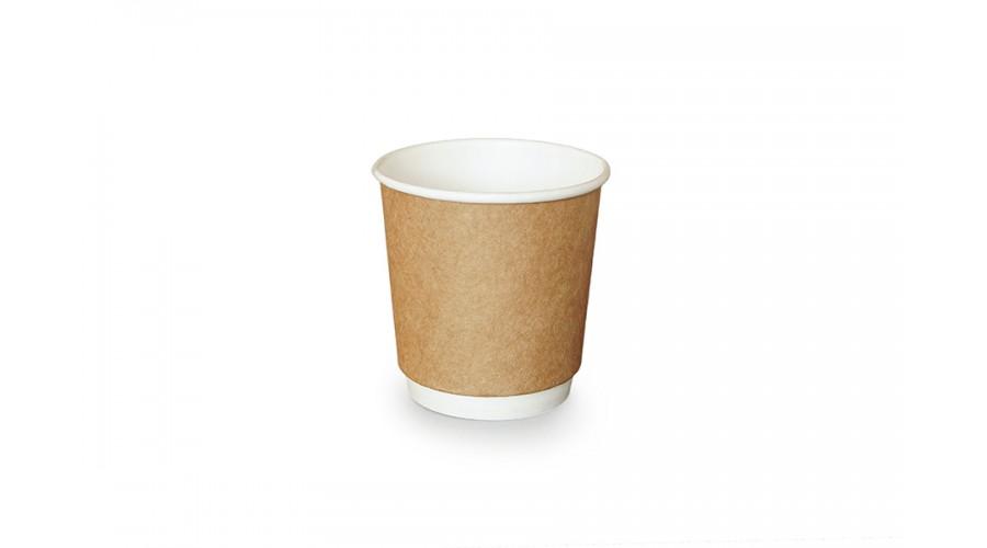 Двошарові стаканчики для кави, 110 мл