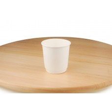 Білі паперові стакани, 110 мл