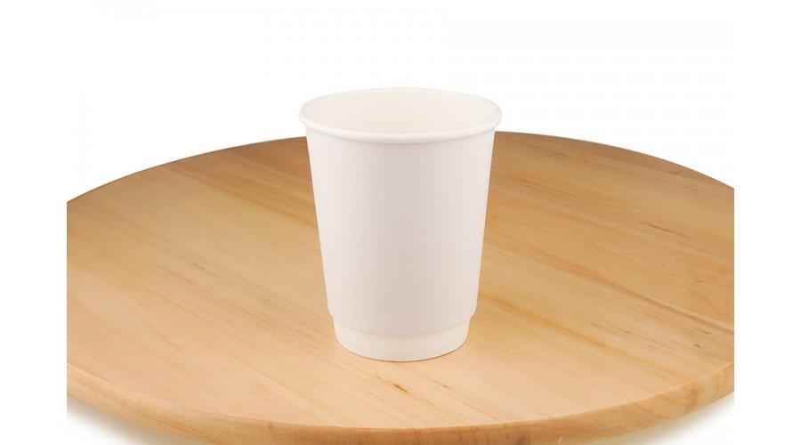 Білі паперові стакани, 250 мл