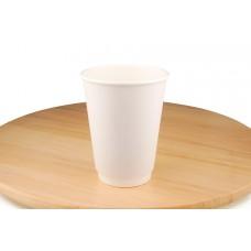 Білі паперові стакани, 430 мл