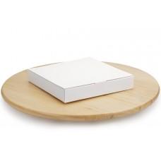Коробка під цукерки, 16, 185*185*30, без вікна,  біла