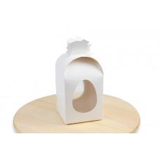 Пасхальна упаковка мішечок білий, 110х110х140 мм