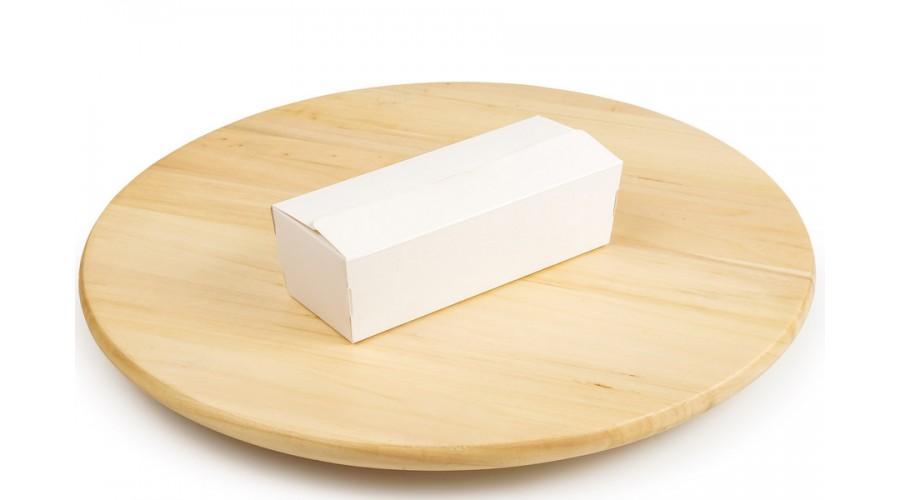 Картонна упаковка для макарун, 160х60х50 мм