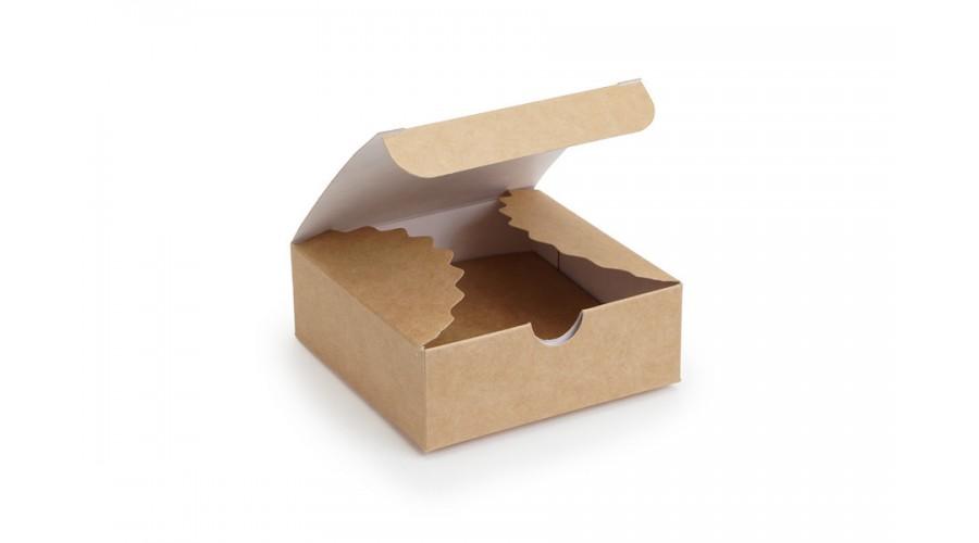 Коробка для мила, 83х83х30 (міні-бокс), крафт