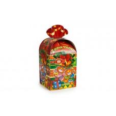 """Упаковка для новорічних подарунків, """"Мішечок із солодощами"""", 110х110х140 мм"""