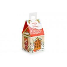"""Коробка для солодощів та цукерок """"Новорічний теремок"""", 95х95х185 мм"""