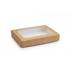 Коробка для пряників, крафтового кольору, 150х200х30 мм