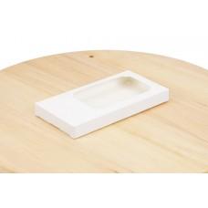 Коробка під шоколад 160х80х17  біла