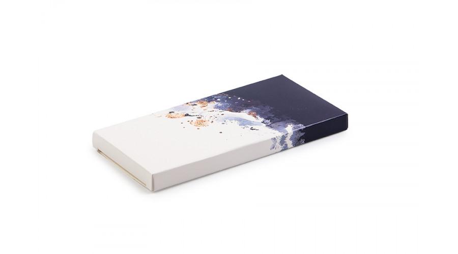 """Упаковка для шоколадки, """"Синя"""", 155х75х11 мм"""
