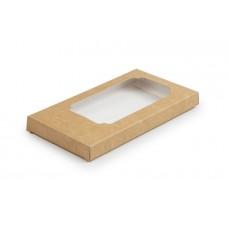 Коробка для шоколаду, крафт, 160х80х17