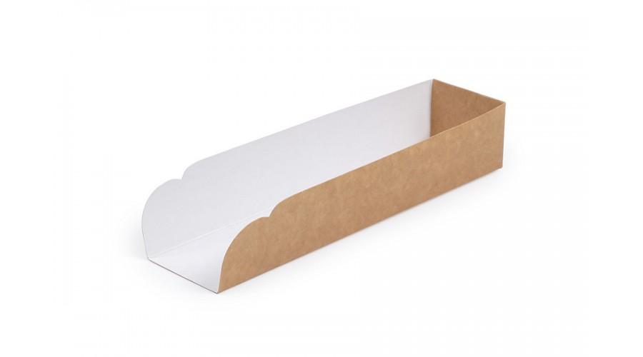 Підкладка під хот-дог, крафт, 205х50х40