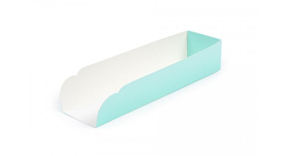 Підкладка під хот-дог, бірюзового кольору, 205х50х40