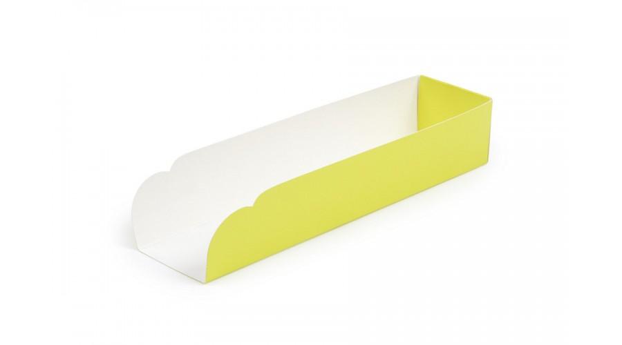 Підкладка під хот-дог, жовтого кольору, 205х50х40
